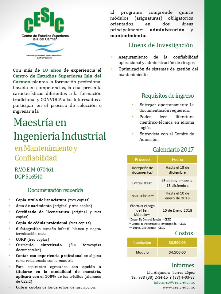 Convocatoria CESIC